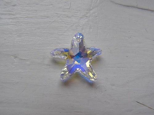 Swarovski Mořská hvězda 20 mm - Crystal AB