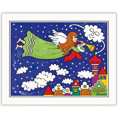 Autorský tisk - Anděl Petronius přivolává zimu