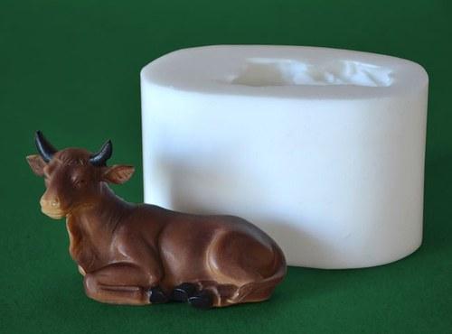 Forma na svíčky Vůl, vel. 8cm