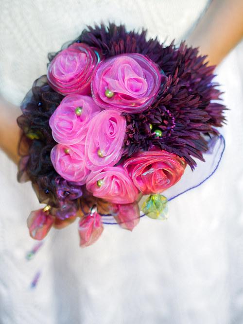 Svatební kytice - SLEVA z 1550,-