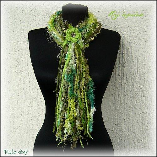 Zelené stužky