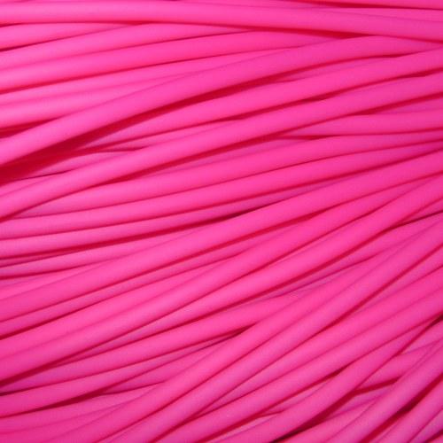 Bužírka růžová, 3 mm, 5 m