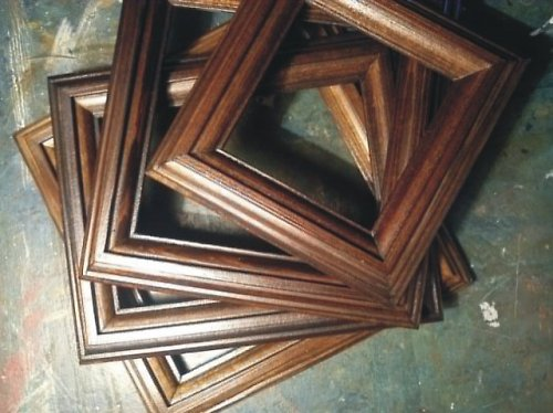 Dřevěné rámečky na obrázky 7 x 11 cm