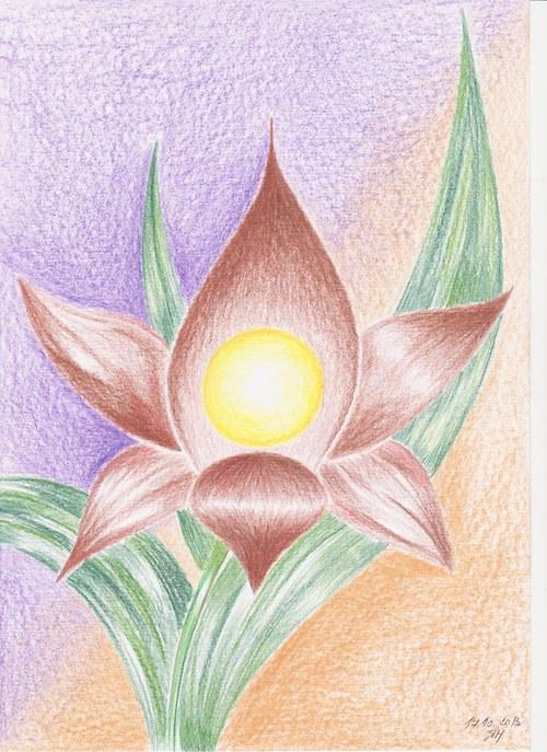 Schované v květu