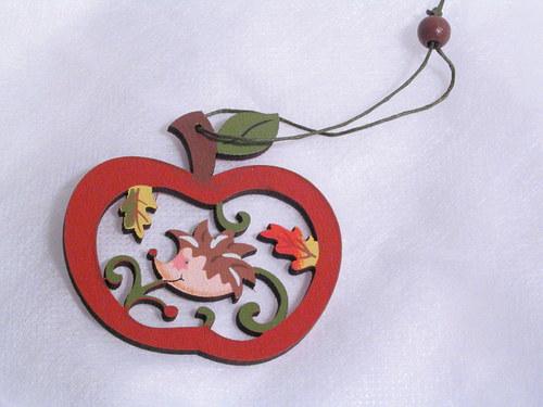 Jablíčko s ježkem