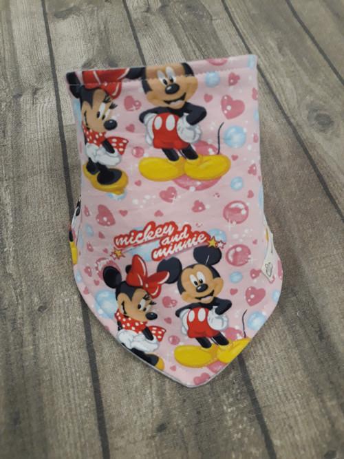 Slintáček Mickey a Minnie Maus růžový