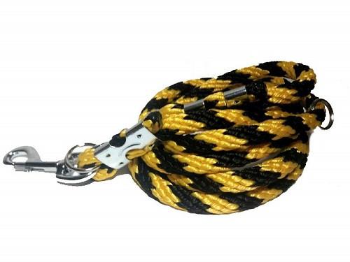 Přepínací vodítko žluto-černé 14 mm, délka 2,45 m