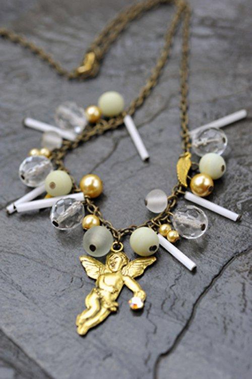 Zlatý náhrdelník N0016W