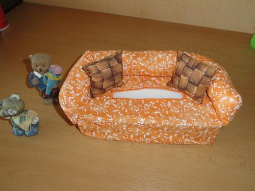 Obal na krabici na papírové kapesníky