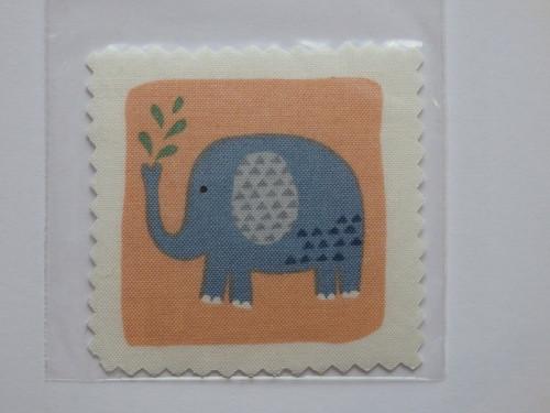 Aplikace / nášivka Zvířátka - Slon I.