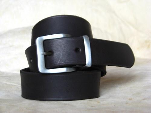 Klasický černý... opasek 4 cm