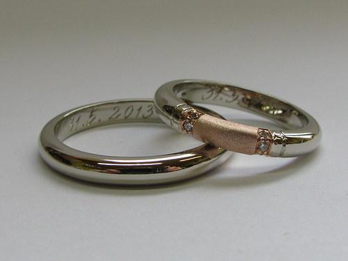 snubní prsteny M15