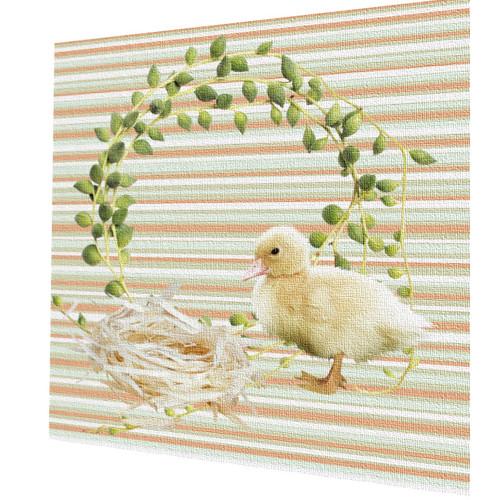 bavlněná látka - panel (čtverec)