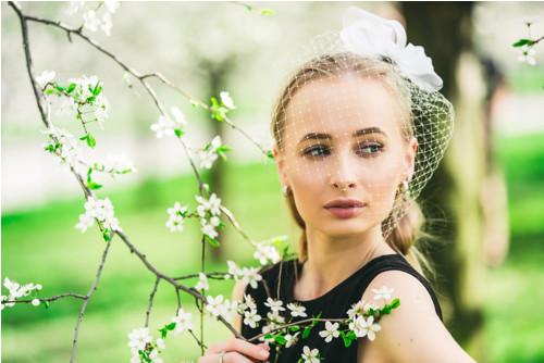 Wedding Fascinator Rose