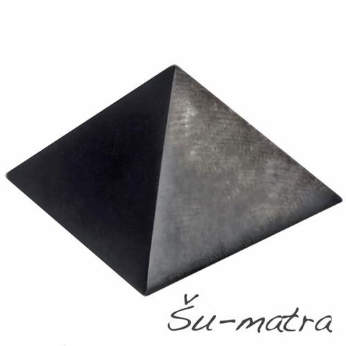 Šungit pyramida, 40 mm