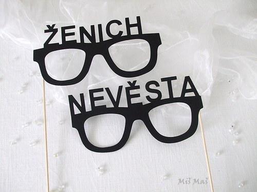 Fotorekvizity Nevěsta a Ženich