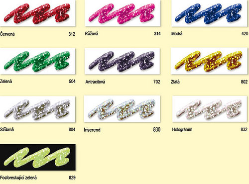 Glitter liner  28ml - výběr barev Antracit 702