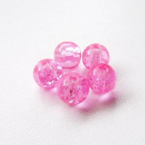 Praskačky 8 mm - světle růžové - 20 ks