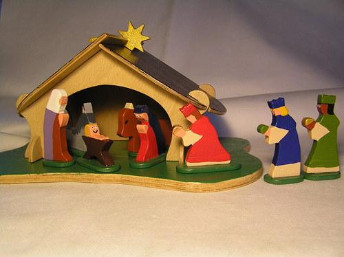 Betlém drevěný pro děti