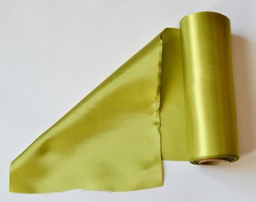 Satén (barva  zelená)