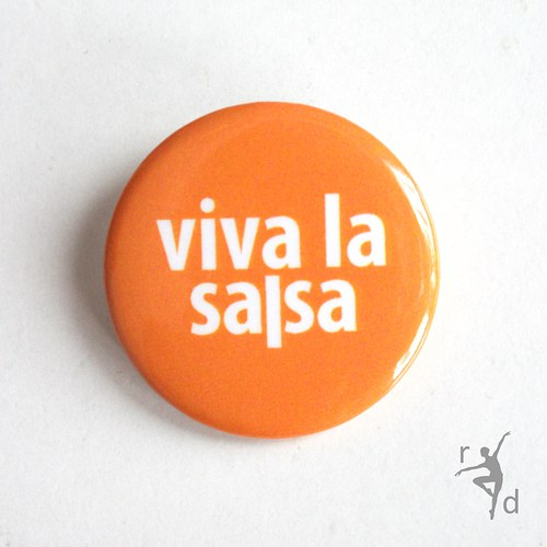 Placka VIVA LA SALSA (Odznak) - Doprodej