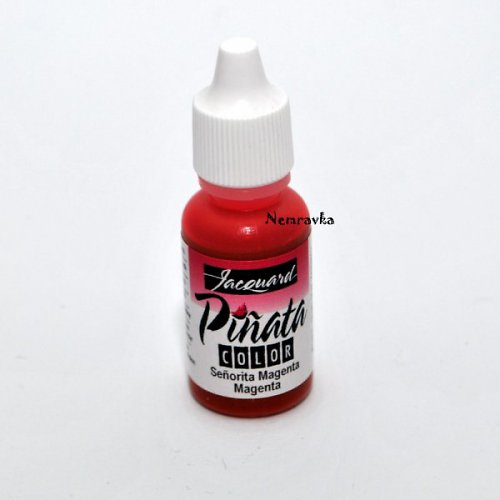 Piňata - alkoholový inkoust / Magenta