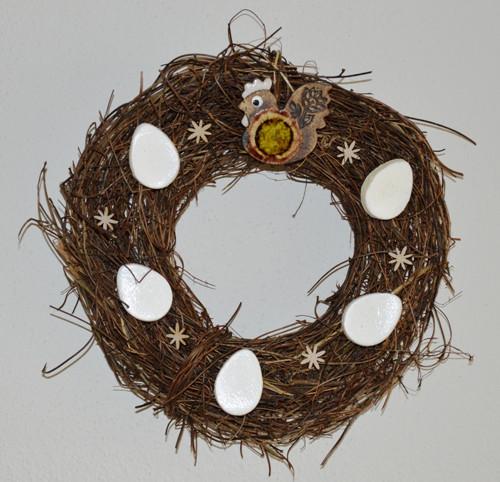 Věneček velikonoční - přírodní č.2