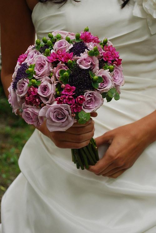 Svatební  - lila