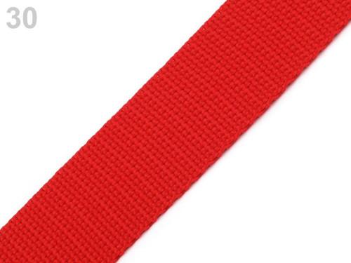 Polypropylénový popruh : Red