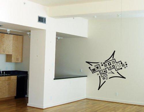 Cubemix - samolepka na zeď