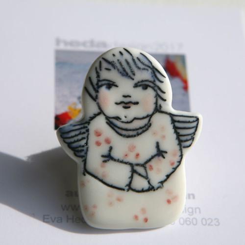 Andělsky tvůj  (porcelán.brož)