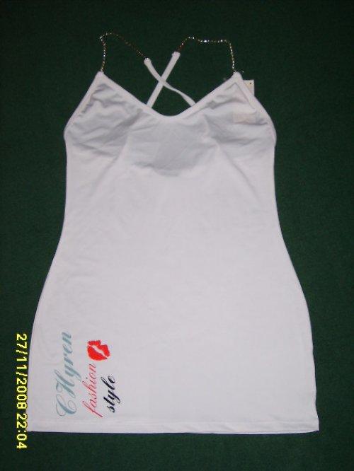 elastické šaty s potiskem- CHYREN -velikost X/XL