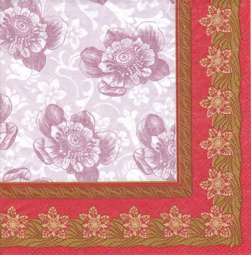 Ubrousek - květiny (2 ks - AKCE)