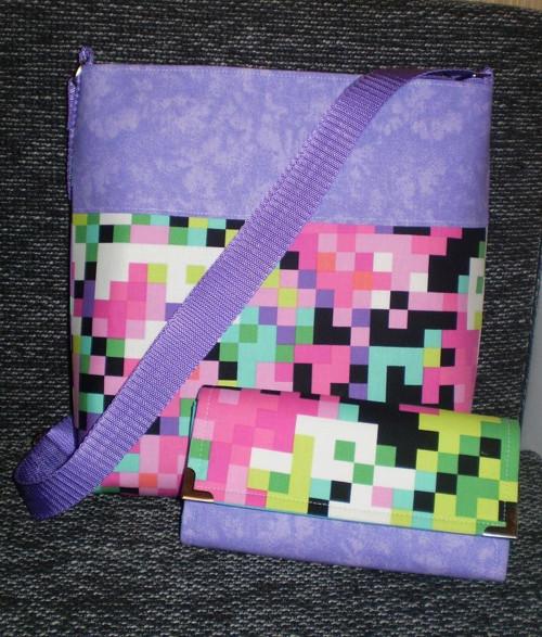 Crossbody kabelka s peněženkou