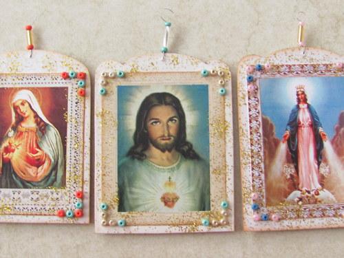 Korálkové (a nejen) vánoční ozdoby 11