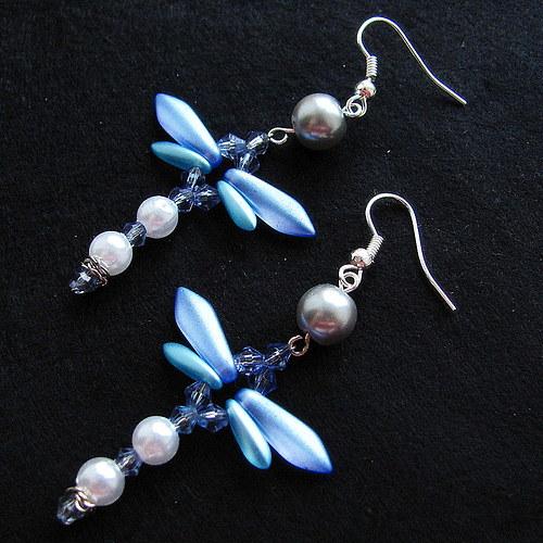 Modré vážky