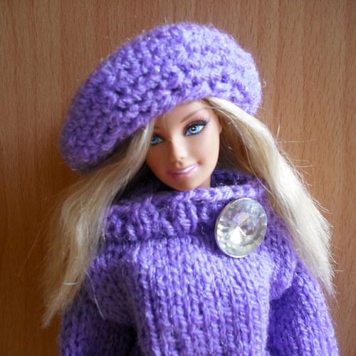 Barbie - fialky na sněhu 2
