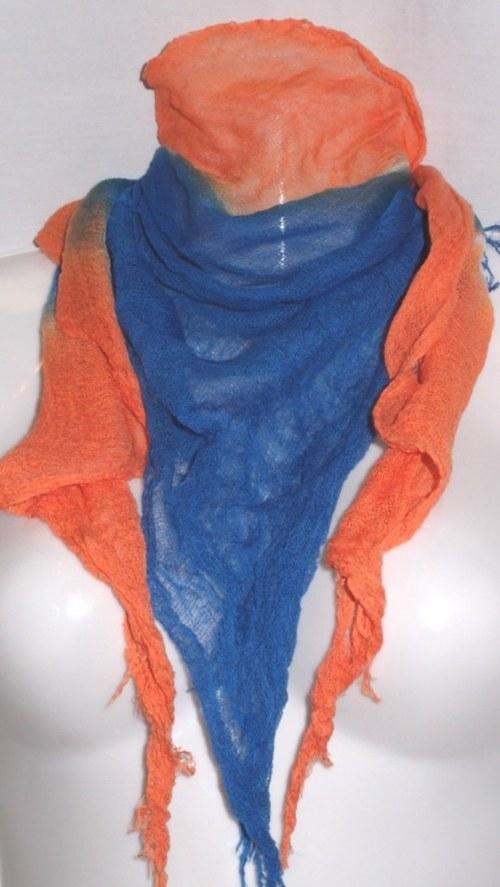 ORANŽÁDA v MOŘI - šátek