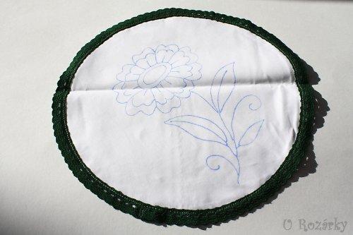 Dětské prostírání-(květinka)-30cm - 50% sleva