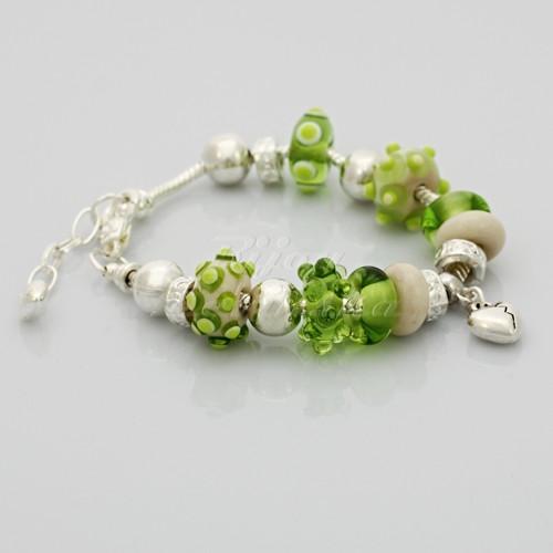 Náramek - vinuté perle