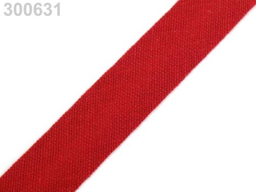 Šikmý proužek 14 mm zažehlený (5m) - Fiery Red