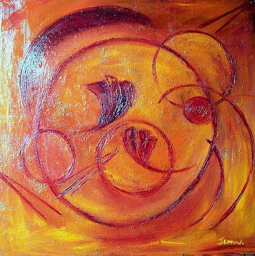 ŽÁR..abstrakce