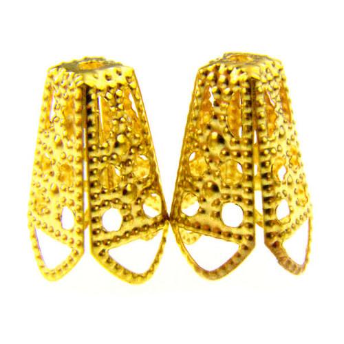 Zlatý kuželovitý kaplík, 10 ks
