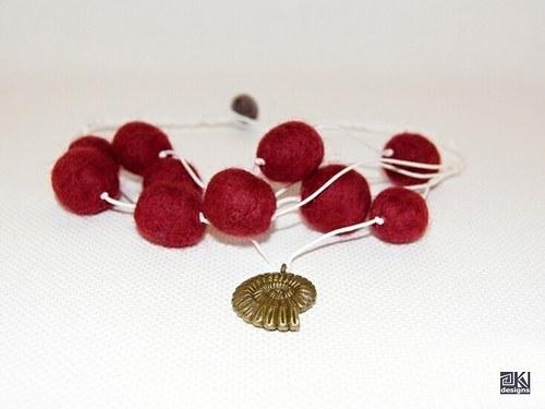 Druhý z Námořnické kolekce - červeno-bílý
