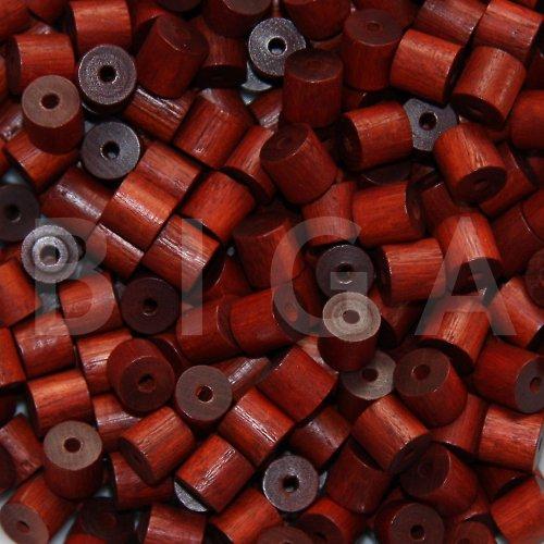 dřevěné korálky 8x8mm