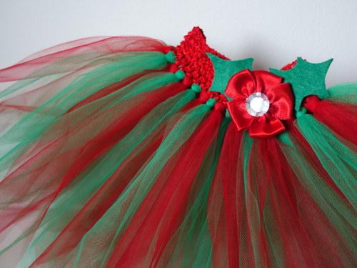 TUTU tylová sukně, sukýnka - Vánoční variace