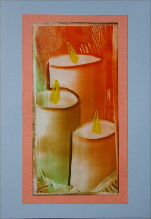 Přáníčko - svíčky