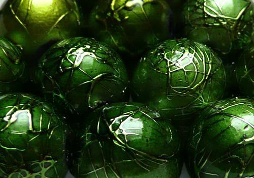 Metalky - 10 mm - 10ks - zelená
