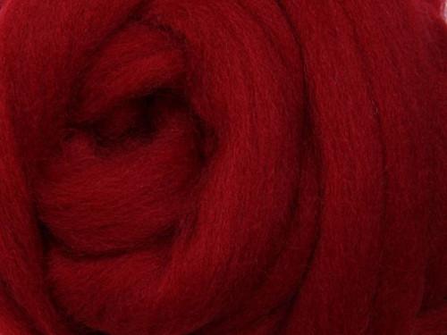 Česanec Corriedale Cherry Red 20 g