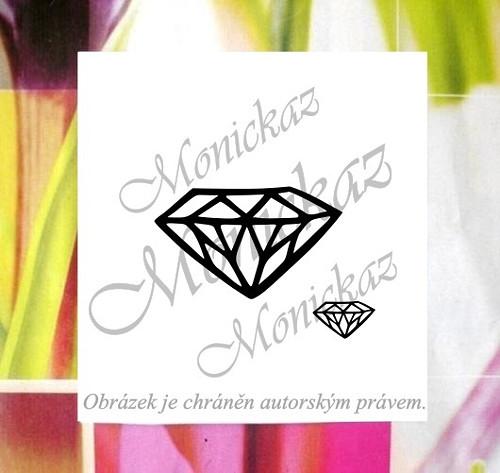 Diamantík... Omyvatelné razítko.